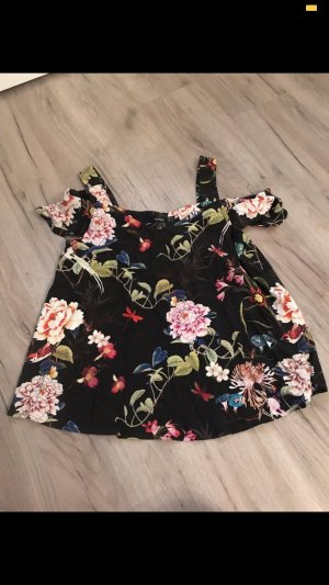 Hallhuber Mouwloze blouse zwart