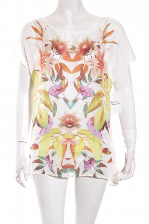 Hallhuber Bluse florales Muster Street-Fashion-Look