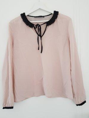 Hallhuber Bluse mit aufwendigem Kragen