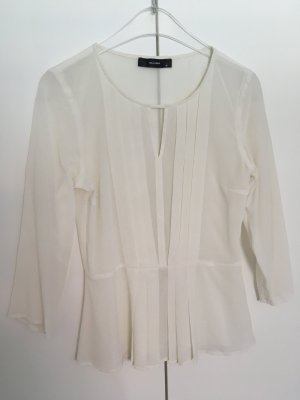 Hallhuber Bluse, off white, transparent, Gr. 36