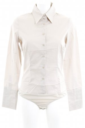 Hallhuber Blusa tipo body beige look casual