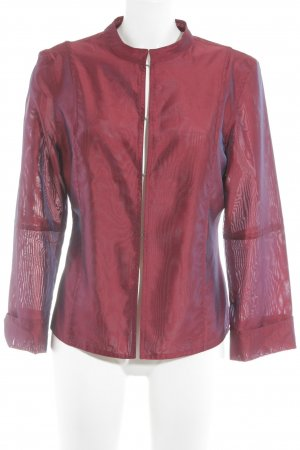 Hallhuber Blouse Jacket bordeaux business style