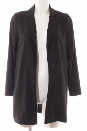 Hallhuber Blouse Jacket black elegant