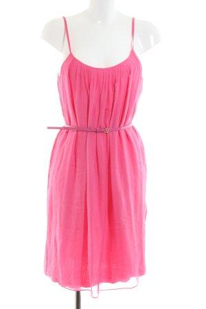 Hallhuber Blusenkleid pink Casual-Look