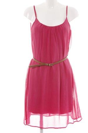 Hallhuber Blusenkleid pink Elegant