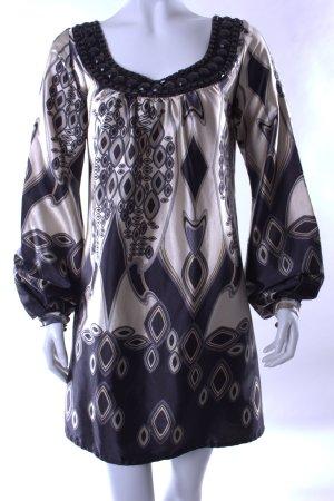 Hallhuber Blusenkleid mit Schmucksteinen