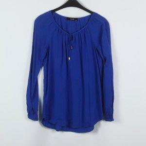 Hallhuber Blusenshirt Gr. 34 blau oversized (19/03/037)
