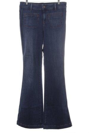 Hallhuber Boot Cut spijkerbroek donkerblauw casual uitstraling