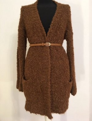 Hallhuber Knitted Coat multicolored