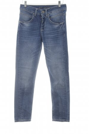 Hallhuber Boyfriend jeans staalblauw casual uitstraling