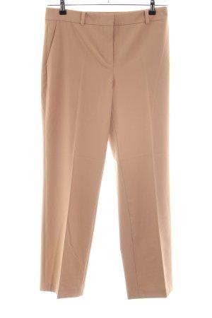 Hallhuber Pantalón de pinza nude estilo «business»