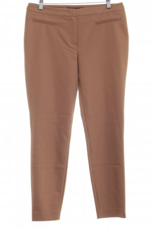 Hallhuber Bundfaltenhose camel Business-Look