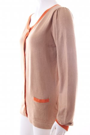 Hallhuber Cardigan beige-orange