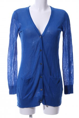 Hallhuber Cardigan blau Casual-Look