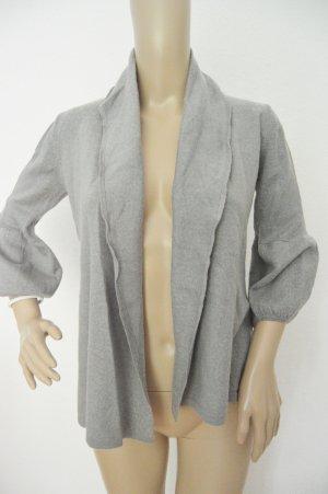 Hallhuber Jersey de lana gris-gris claro