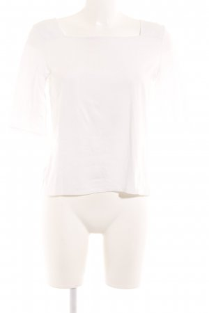 Hallhuber Camicetta alla carmen bianco stile casual