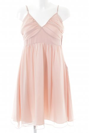 Hallhuber Chiffonkleid apricot Party-Look