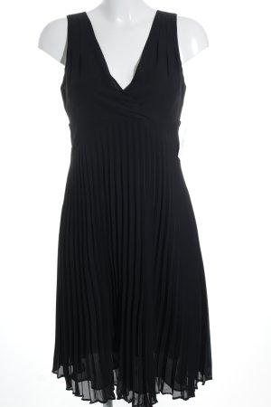 Hallhuber Chiffonkleid schwarz Elegant