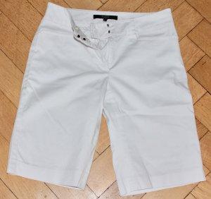 Hallhuber Denim Shorts white