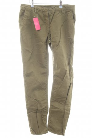 Hallhuber Chinohose khaki Casual-Look