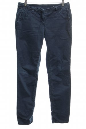 Hallhuber Chinos blue casual look