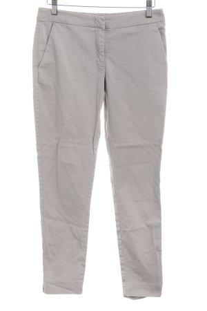 Hallhuber Pantalon chinos gris clair style d'affaires