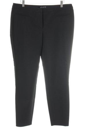 Hallhuber Pantalone chino nero stile professionale