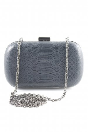 Hallhuber Clutch anthrazit Party-Look