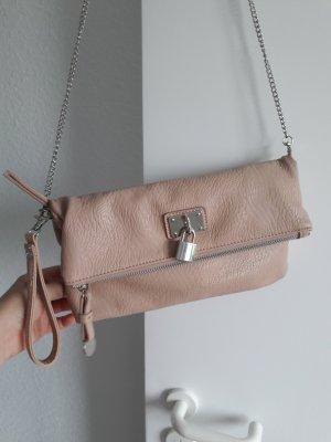 Hallhuber  Clutch beige/leicht rosa