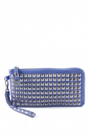 Hallhuber Clutch blau Casual-Look