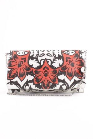 Hallhuber Borsa clutch motivo floreale stile stravagante