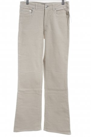 Hallhuber Cordhose creme Casual-Look