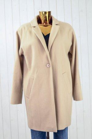 Hallhuber Abrigo corto beige claro-beige