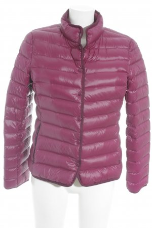 Hallhuber Down Jacket violet quilting pattern casual look