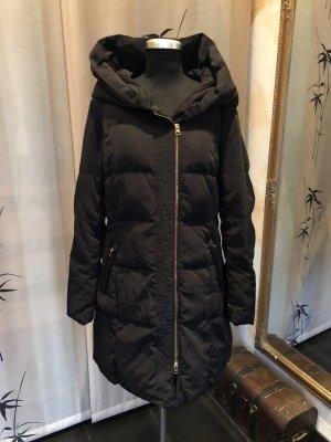 Hallhuber Manteau en duvet noir
