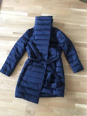 Hallhuber Cappotto invernale blu scuro