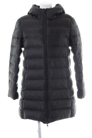 Hallhuber Down Coat black casual look