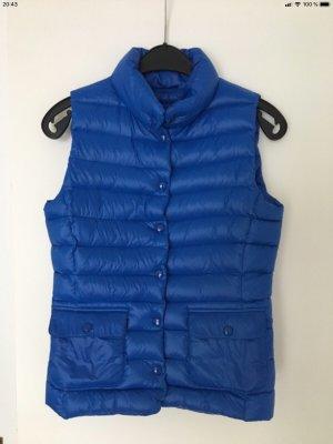 Hallhuber Down Vest blue