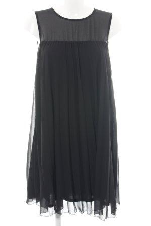 Hallhuber Donna A-Linien Kleid schwarz Elegant