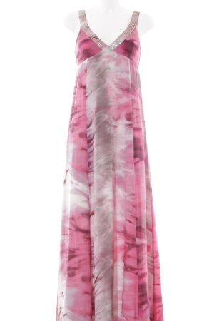 Hallhuber Donna Abendkleid pink-hellgrau Farbverlauf Elegant