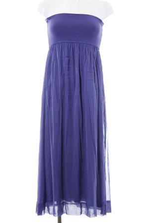 Hallhuber Donna Bandeaukleid blauviolett Elegant