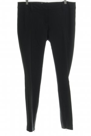 Hallhuber Donna Bundfaltenhose schwarz Business-Look