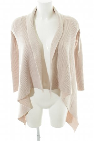 Hallhuber Donna Cardigan creme Allover-Druck Casual-Look