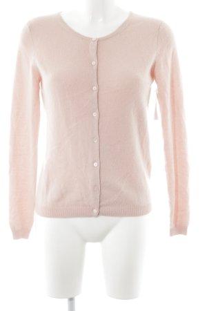 Hallhuber Donna Cardigan light pink simple style