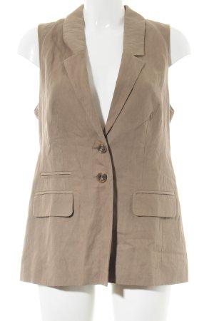 Hallhuber Donna Down Vest brown business style