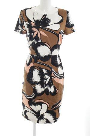 Hallhuber Donna Etuikleid abstraktes Muster 90ies-Stil