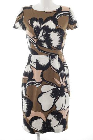 Hallhuber Donna Etuikleid florales Muster extravaganter Stil