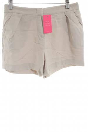 Hallhuber Donna Hot Pants creme Casual-Look