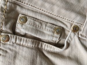 Hallhuber Donna Jeans oatmeal cotton