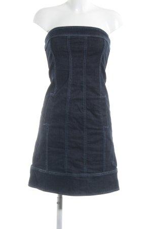 Hallhuber Donna Jeanskleid dunkelblau 90ies-Stil